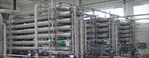 Ejemplo de planta de filtración por ósmosis inversa